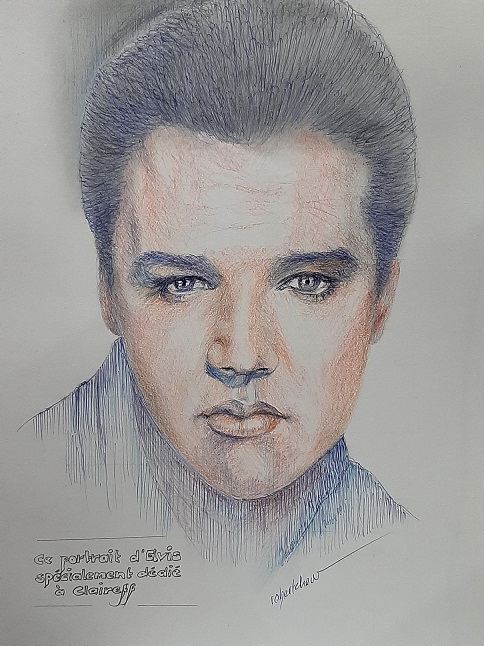 Elvis Presley by Bobchew